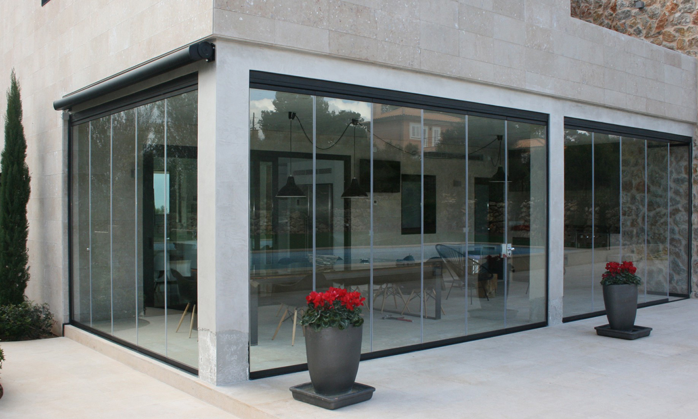 Cortina de cristal en vivienda 20150601 3 3 g - Cortinas de cristal