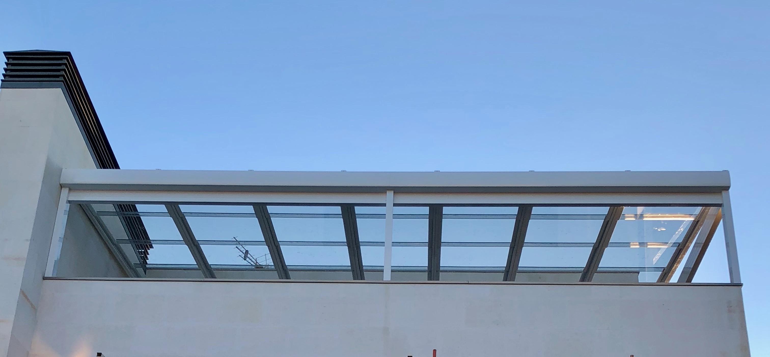 IMG 0363 - Acristalamiento techo móvil motorizado